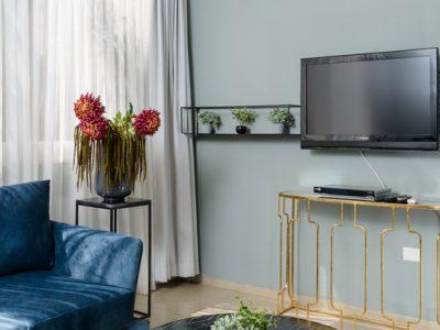 hayarkon198 005 400x300 Grand Deluxe 60sqm Two Bedroom Apartments