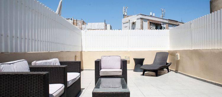 Rooftop Studio | Geula Suites